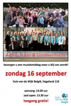 DEF AdHoc Koor Leedvermaak 16 09 18