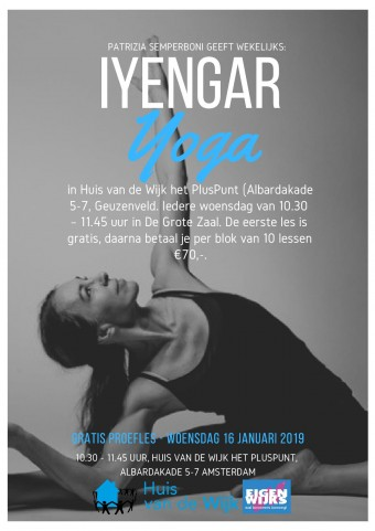Flyer Iyengar Yoga