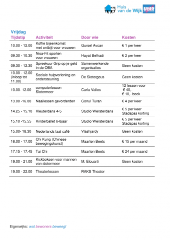Nieuweversie weekprogrammaboekje2018 07
