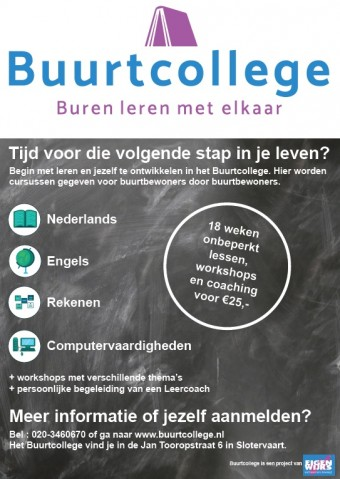poster.buurtcollege