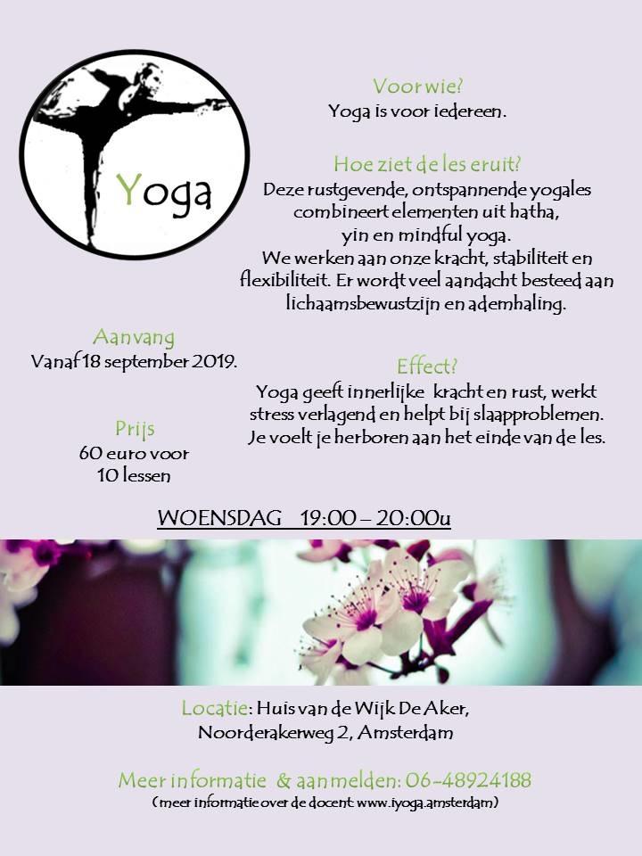 Yoga HvdW De Aker wo av